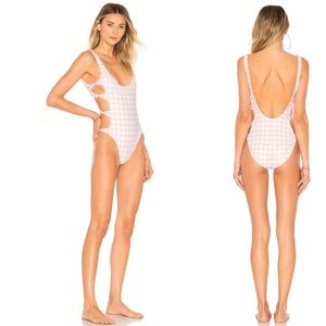 LOVERS+FRIENDS Wrapped up One Piece NWT